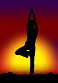 yoga, an exercise that helps with tinnitus