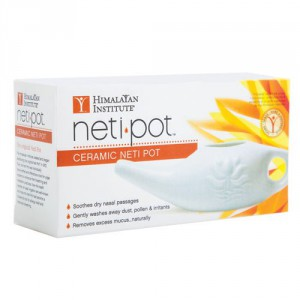 How do I use a neti pot